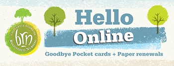 Hello Online, Goodbye Pocket cards + Paper renewals
